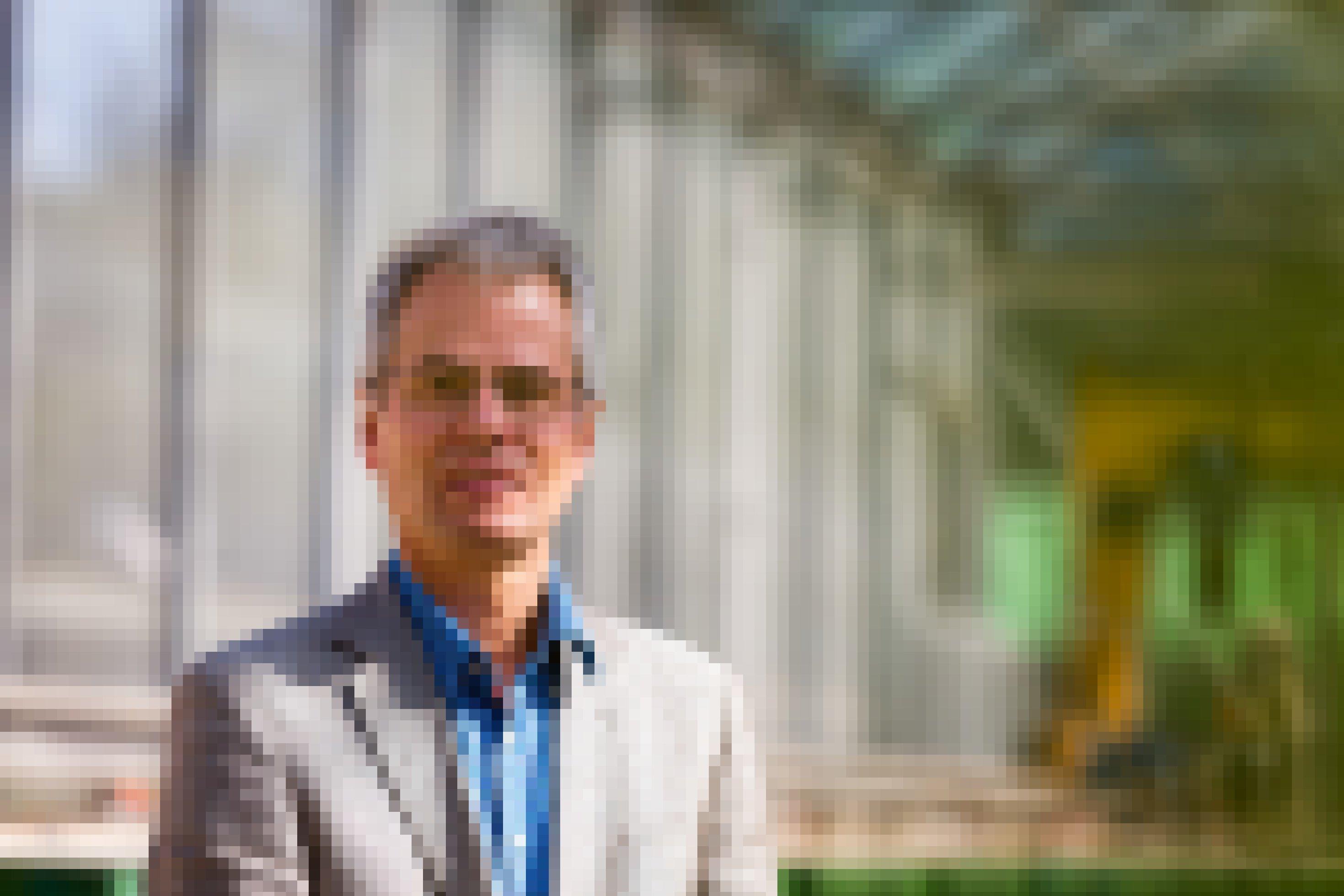 Portrait des Wissenschaftlers Hans de Kroon von der Radboud-Universität in Nimwegen.