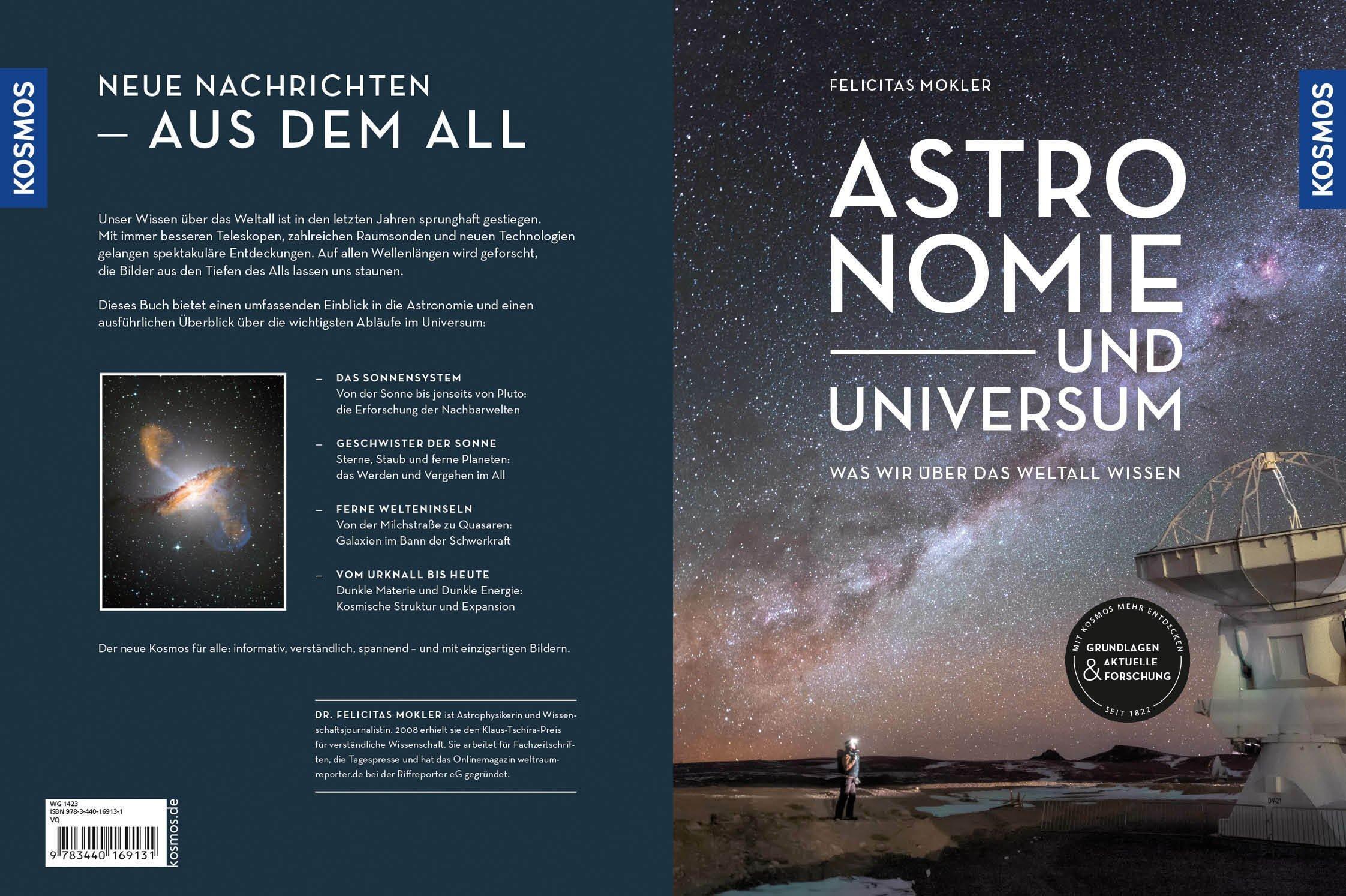 """Blick ins Buch """"Astronomie und Universum"""""""