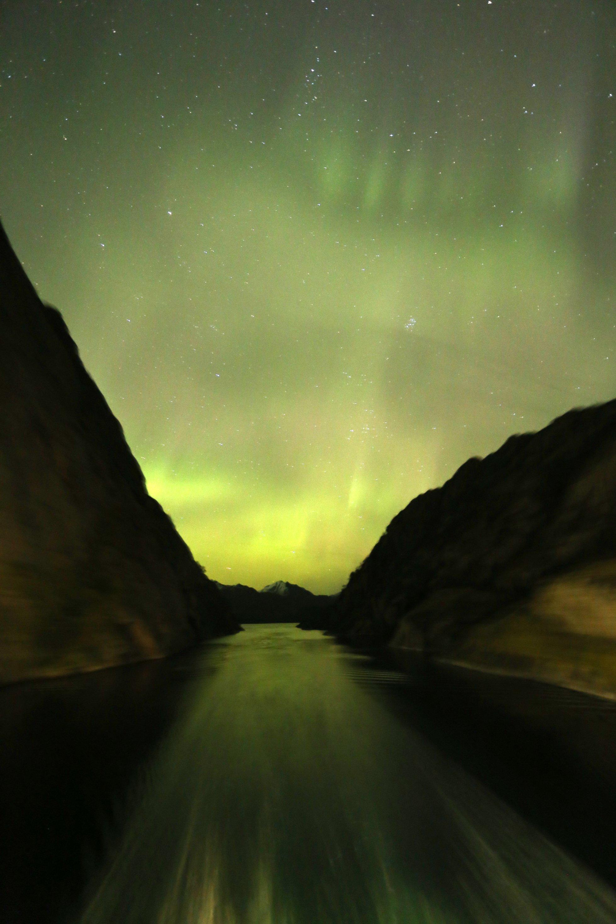 Polarlichter in Norwegen.