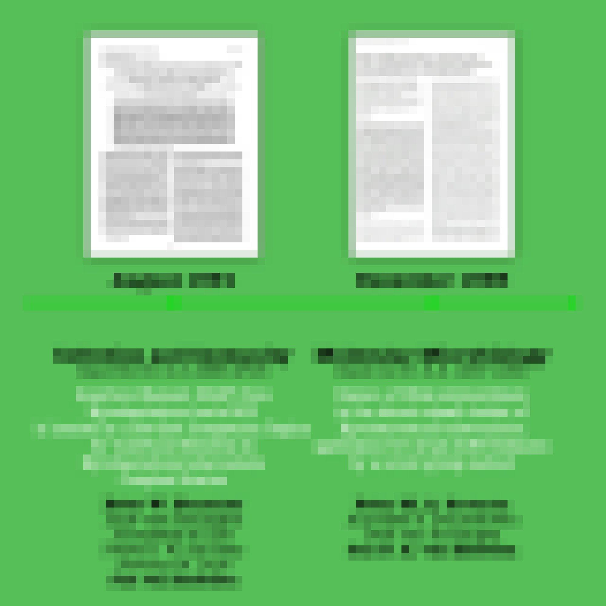 Zwei Fachartikel aus der Arbeitsgruppe Jan van Embdens mit bibliographischen Angaben vor grünem Hintergrund.