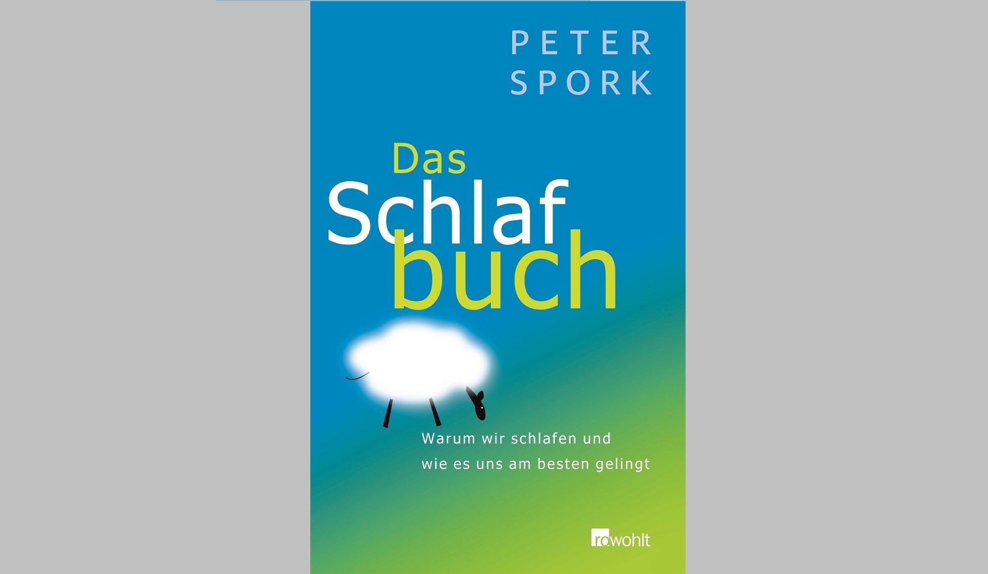 """Buchtitel von Peter Sporks Buch """"Das Schlafbuch"""", erstmals erschienen 2007im Rowohlt-Verlag"""