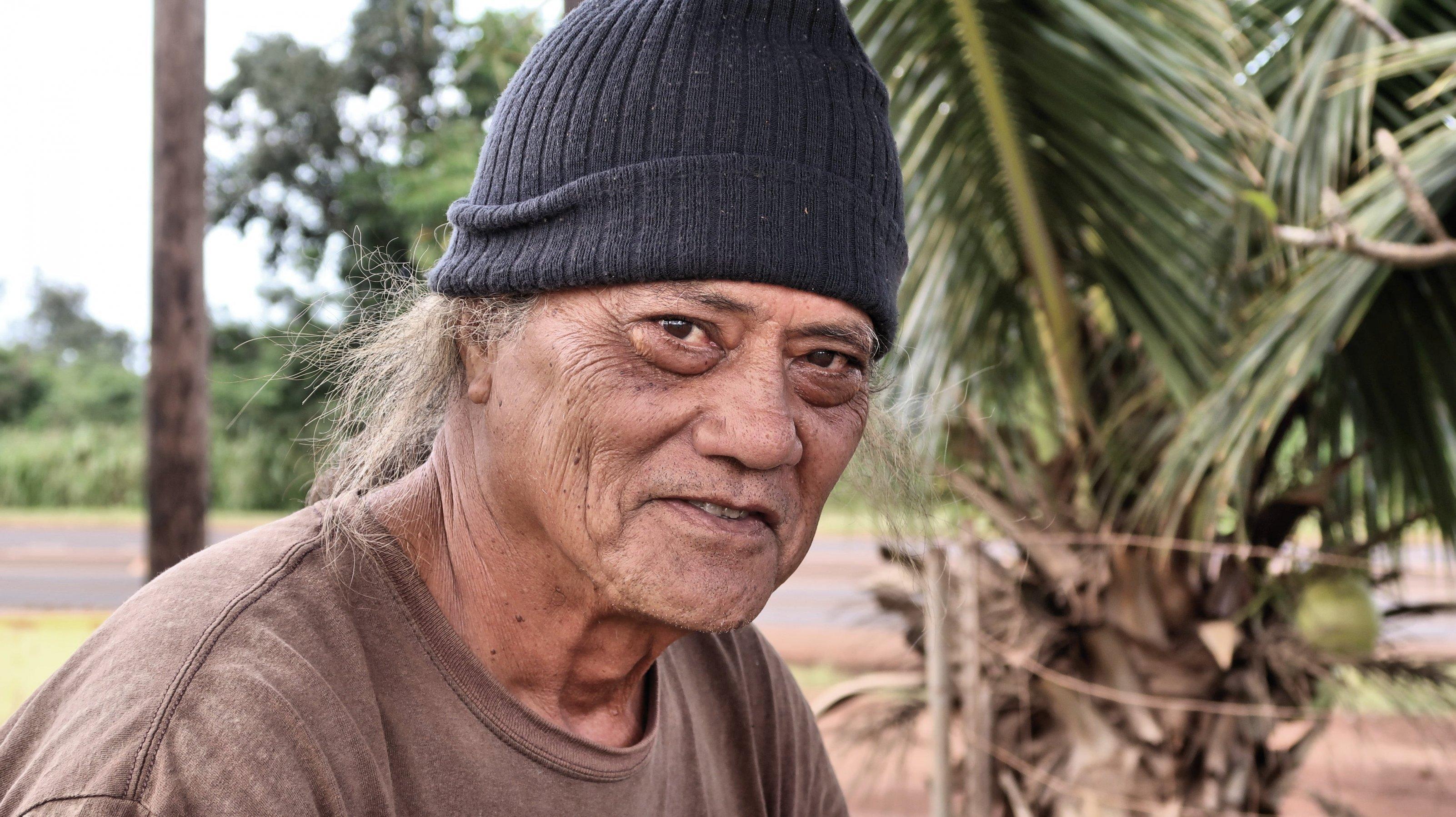 Nahaufnahme eines älteren Mannes