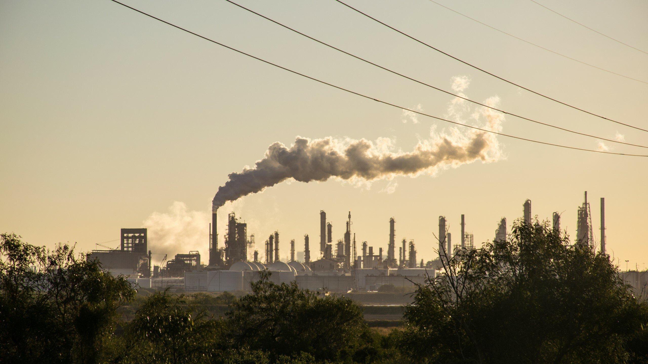 Ölraffinerie in Corpus Christi, Texas.