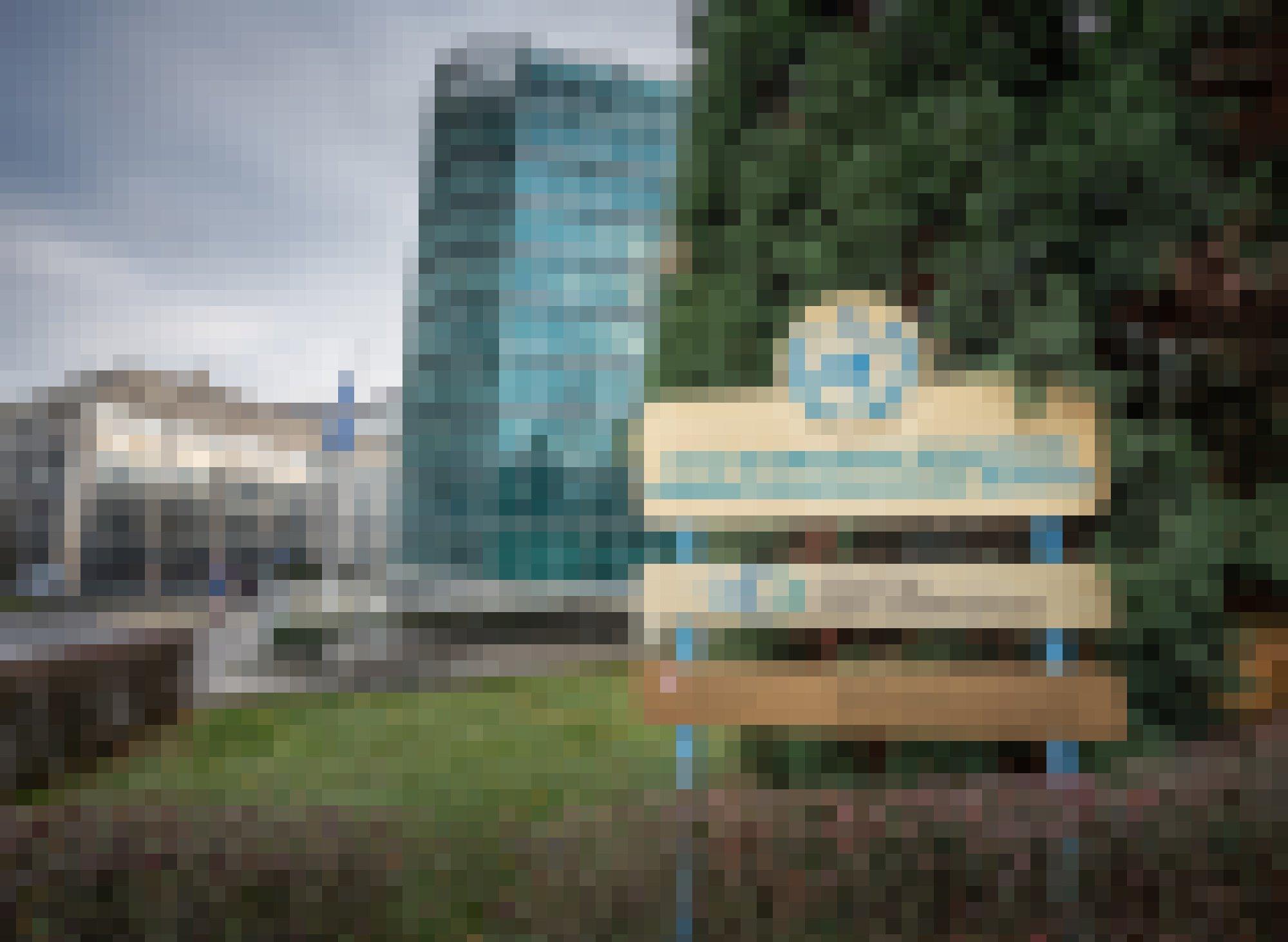 Das Bild zeigt das Hochhaus, in dem der Weltklimarat IPCC in den Räumlichkeiten der Weltorganisation für Meteorologie (WMO) in Genf untergebracht ist.