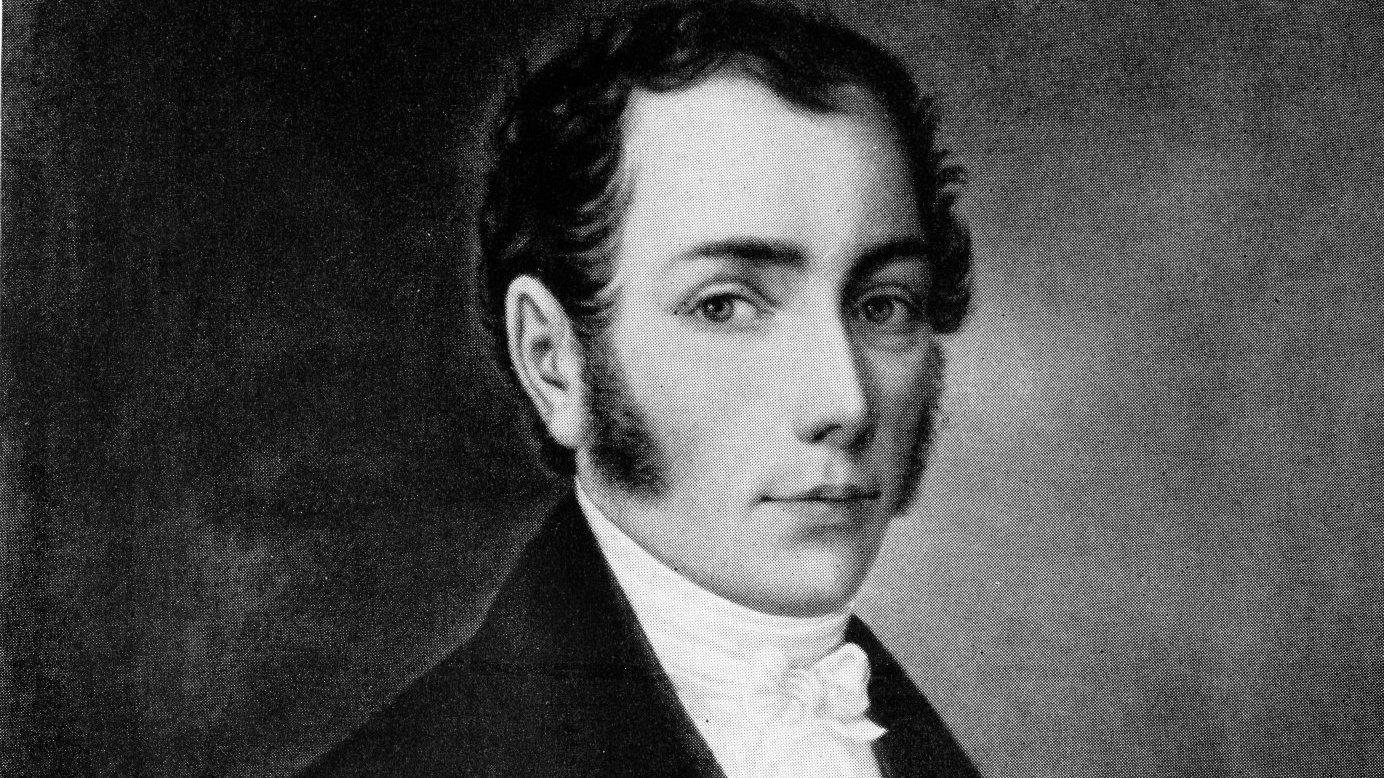 Joseph von Fraunhofer Portrait.