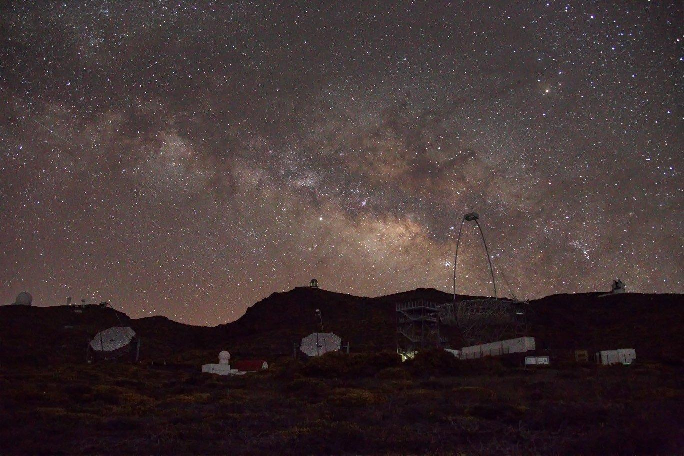 MAGIC-Telescope auf La Palma.