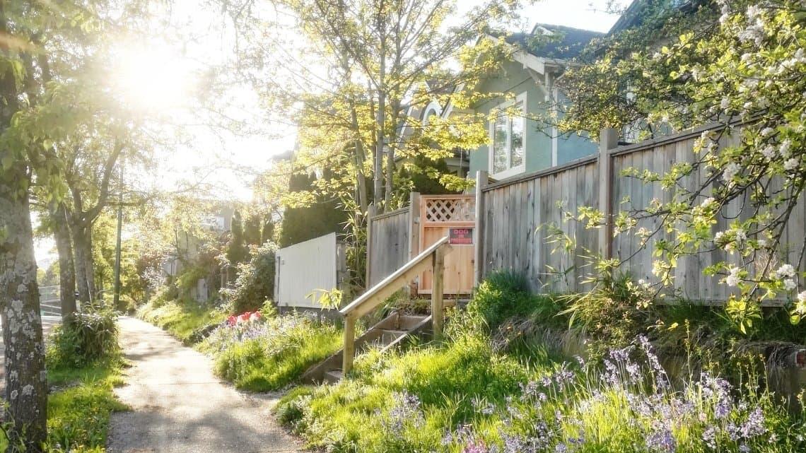 Bild einer Siedlung in Vancouver.