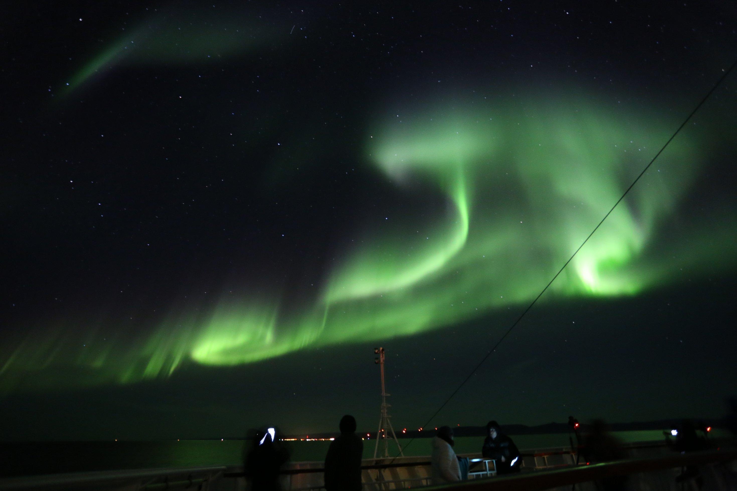 Polarlicht in Norwegen.