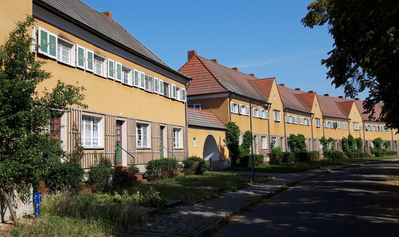 Straßenzug von Piesteritz.
