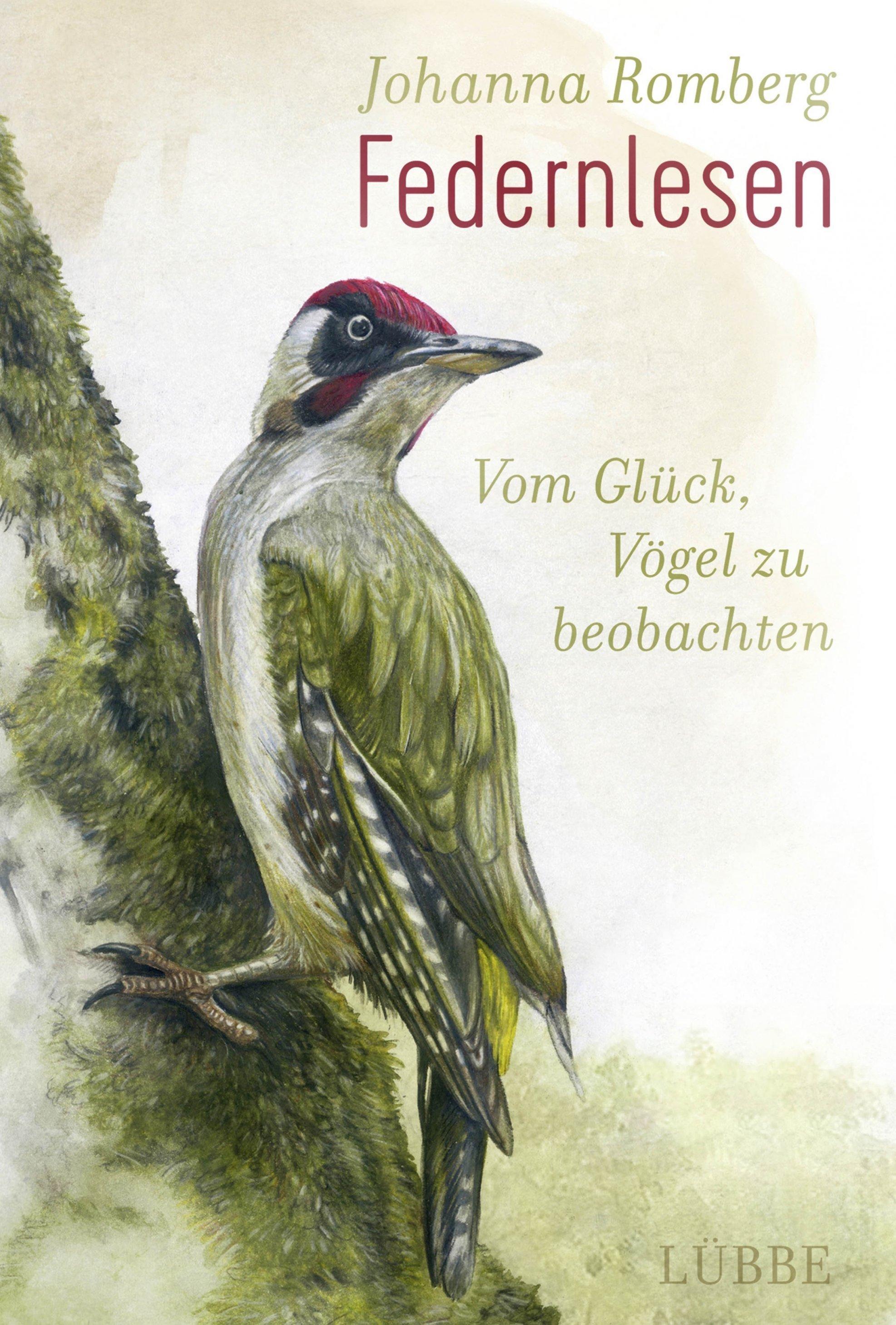 """Der Grünspecht kommt auch darin vor: Cover von """"Federnlesen"""""""
