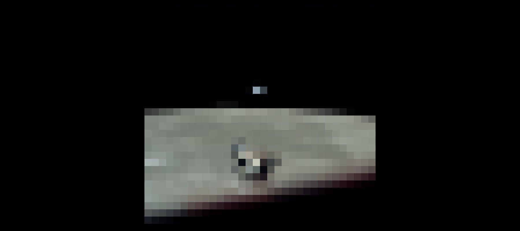 """Ein legendäres Foto der Mission Apollo 11: die Erde winzig klein hinter dem Mondhorizont – und im Vordergrund die Landefähre """"Eagle""""."""