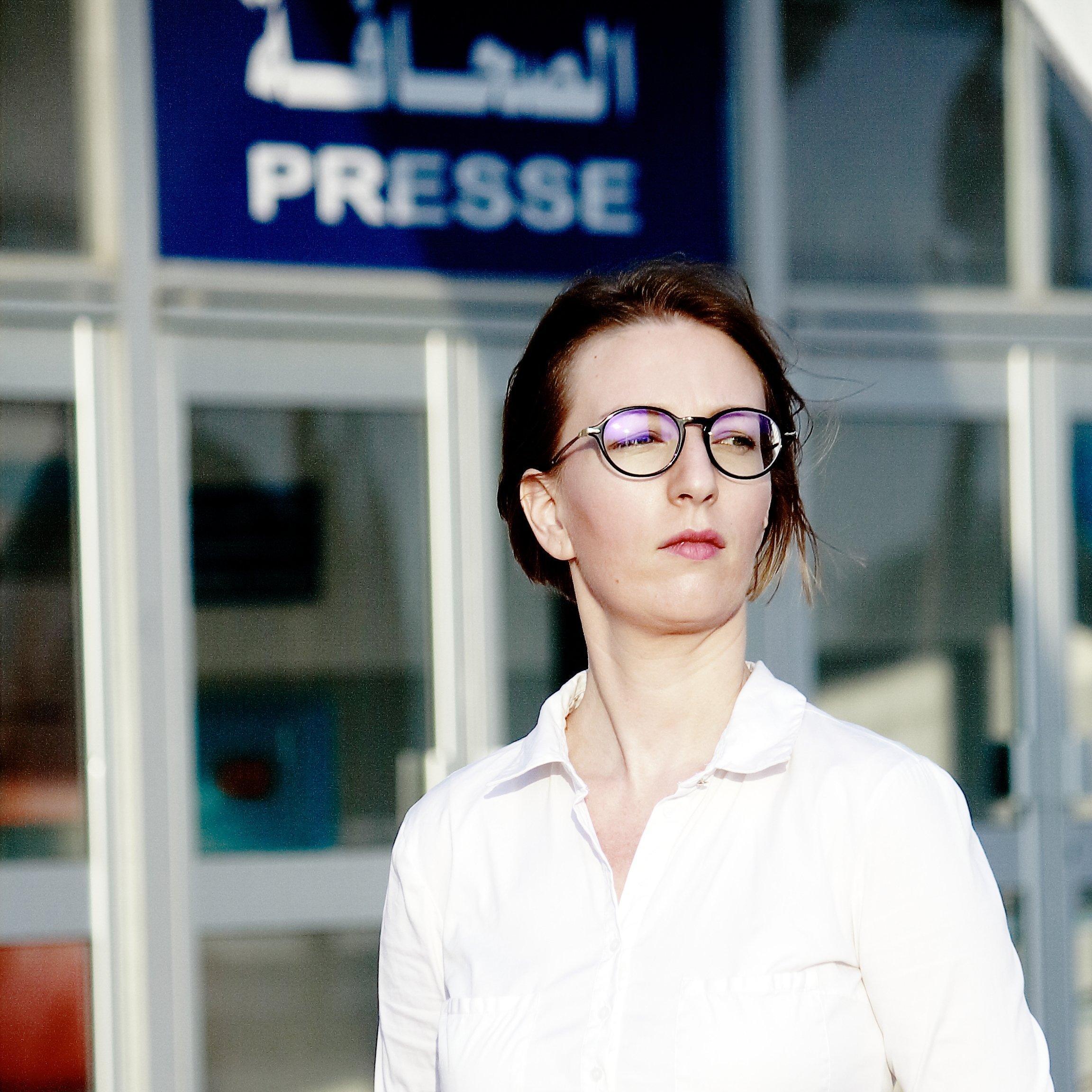 Foto der Journalistin Sarah Mersch