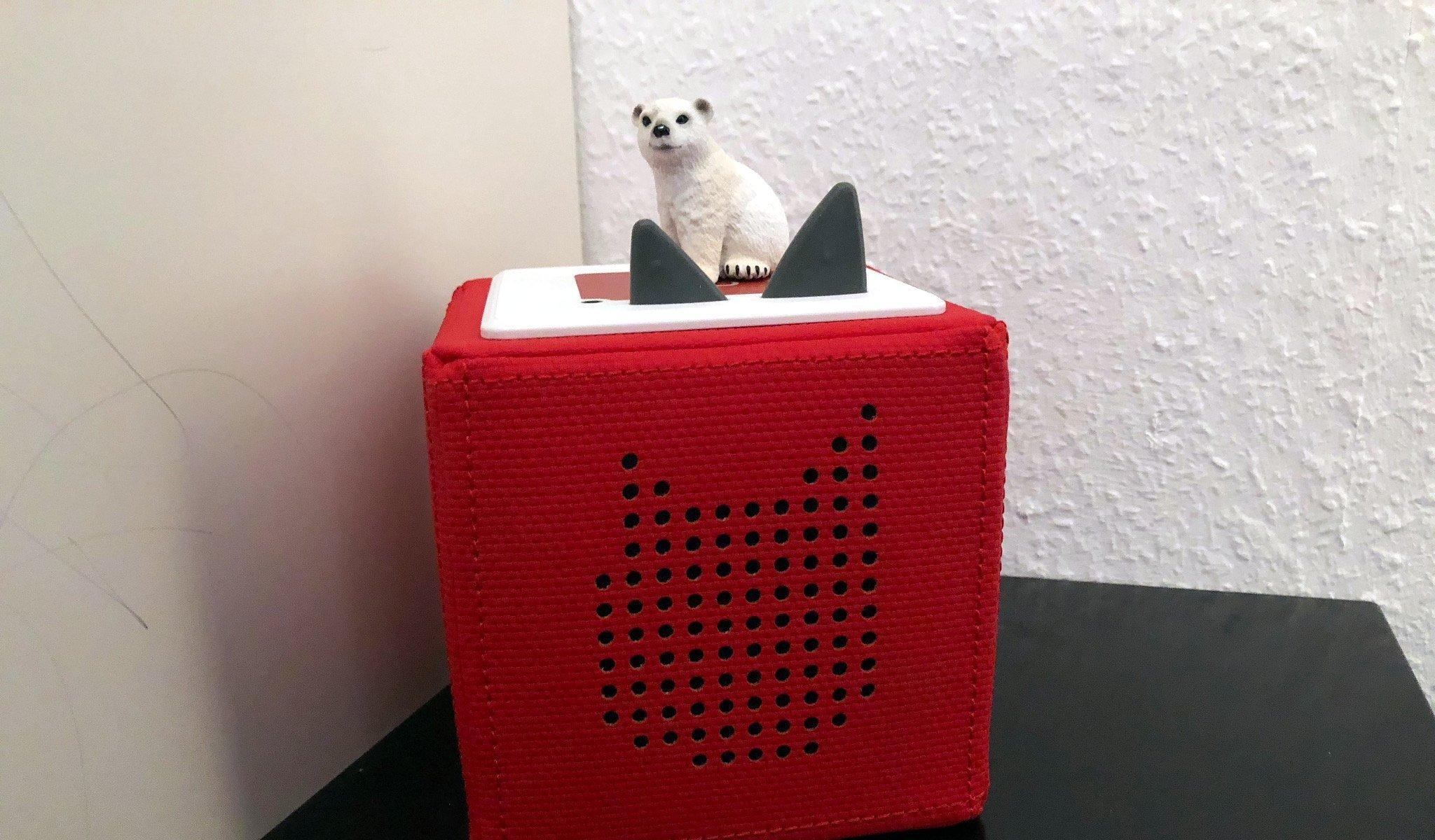 Eisbär auf Tonie-Box