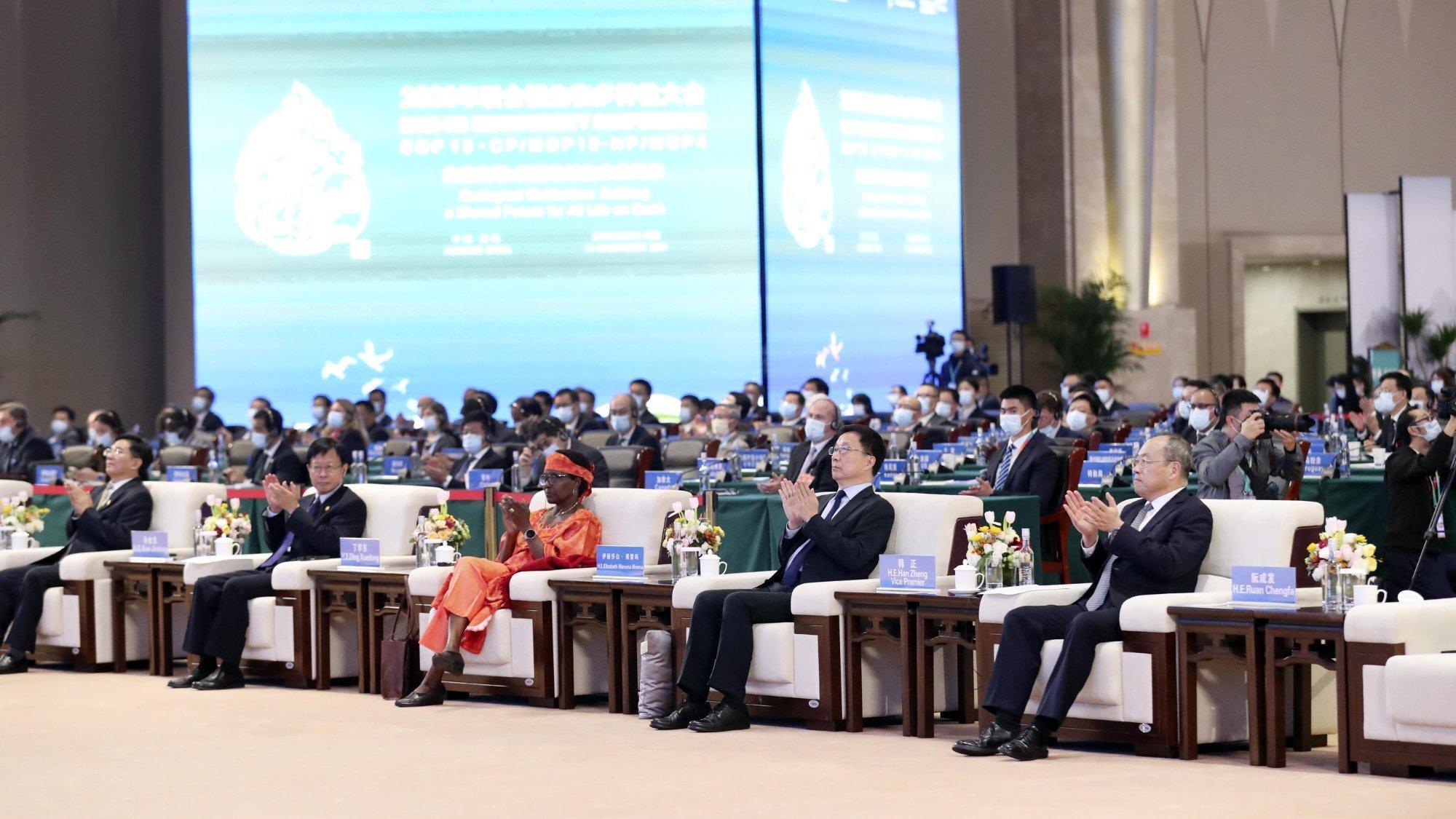 Blick in den Konferenzsaal in Kunming