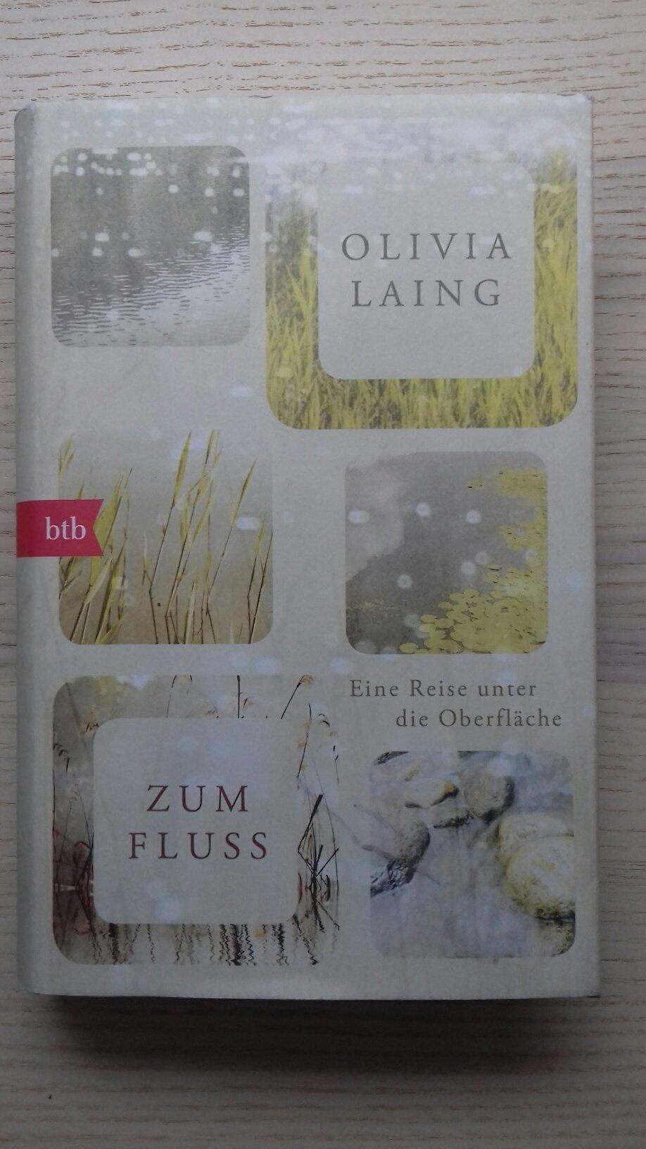 """Buchcover Olivia Laing """"Zum Fluss – ein Reise unter die Oberfläche"""""""