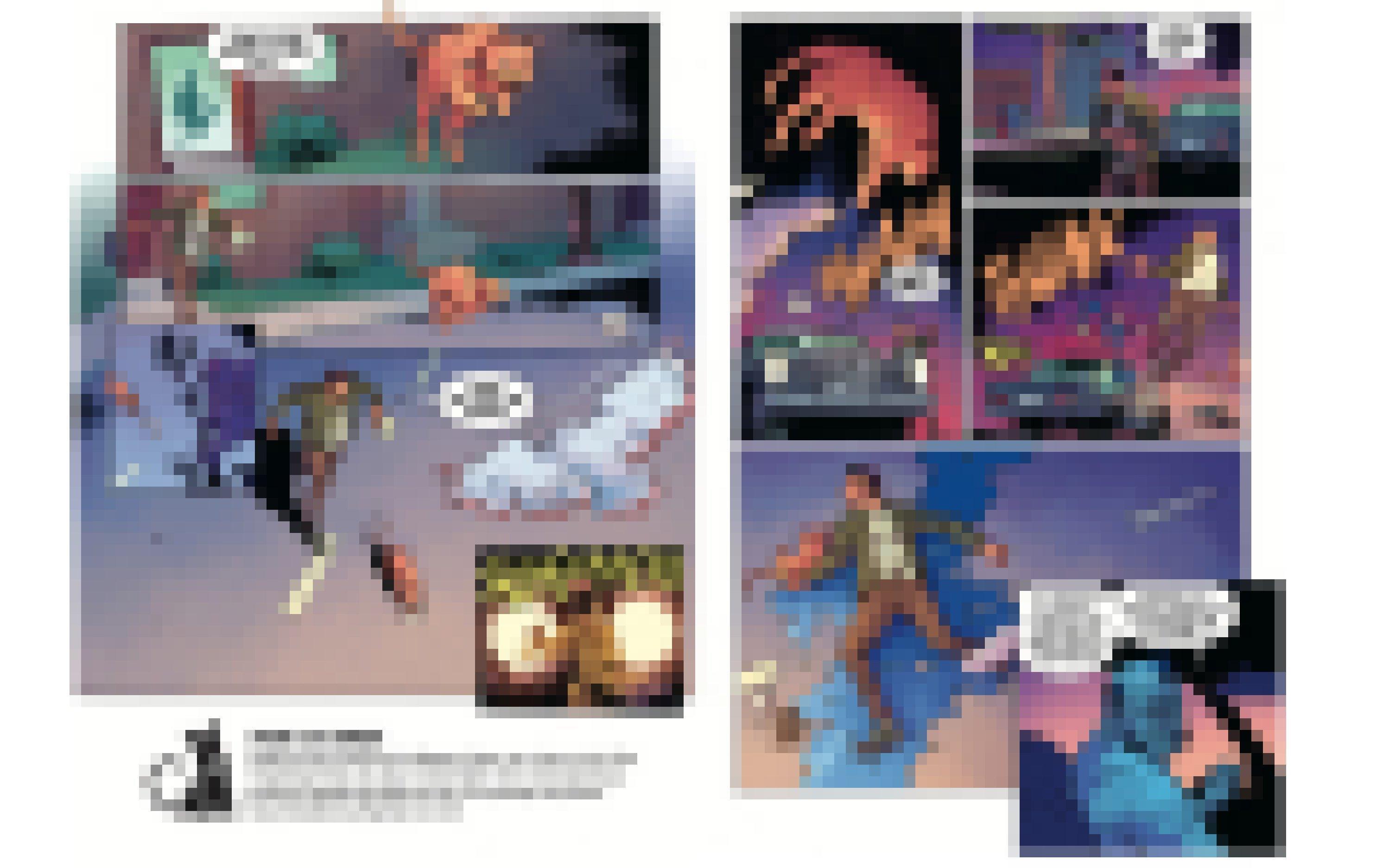 """Auszug aus """"Dark Horse"""", dargestellt sind mehrere Comicbilder"""
