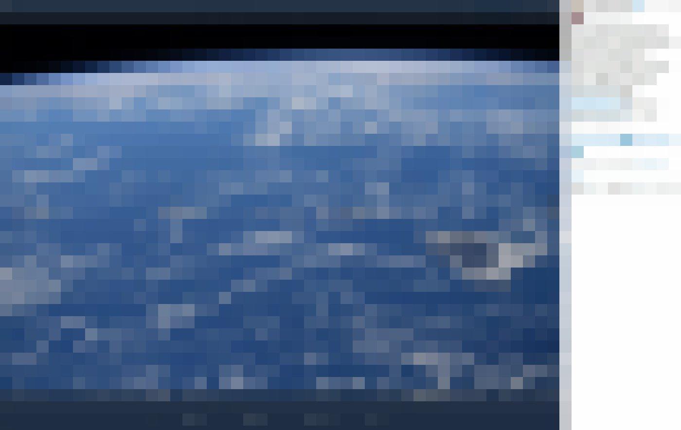Zum Earth Day 2020präsentiert die Astronautin Christina H. Koch vier Bilder: Hawaii, Alpen, Sahara, Australien.