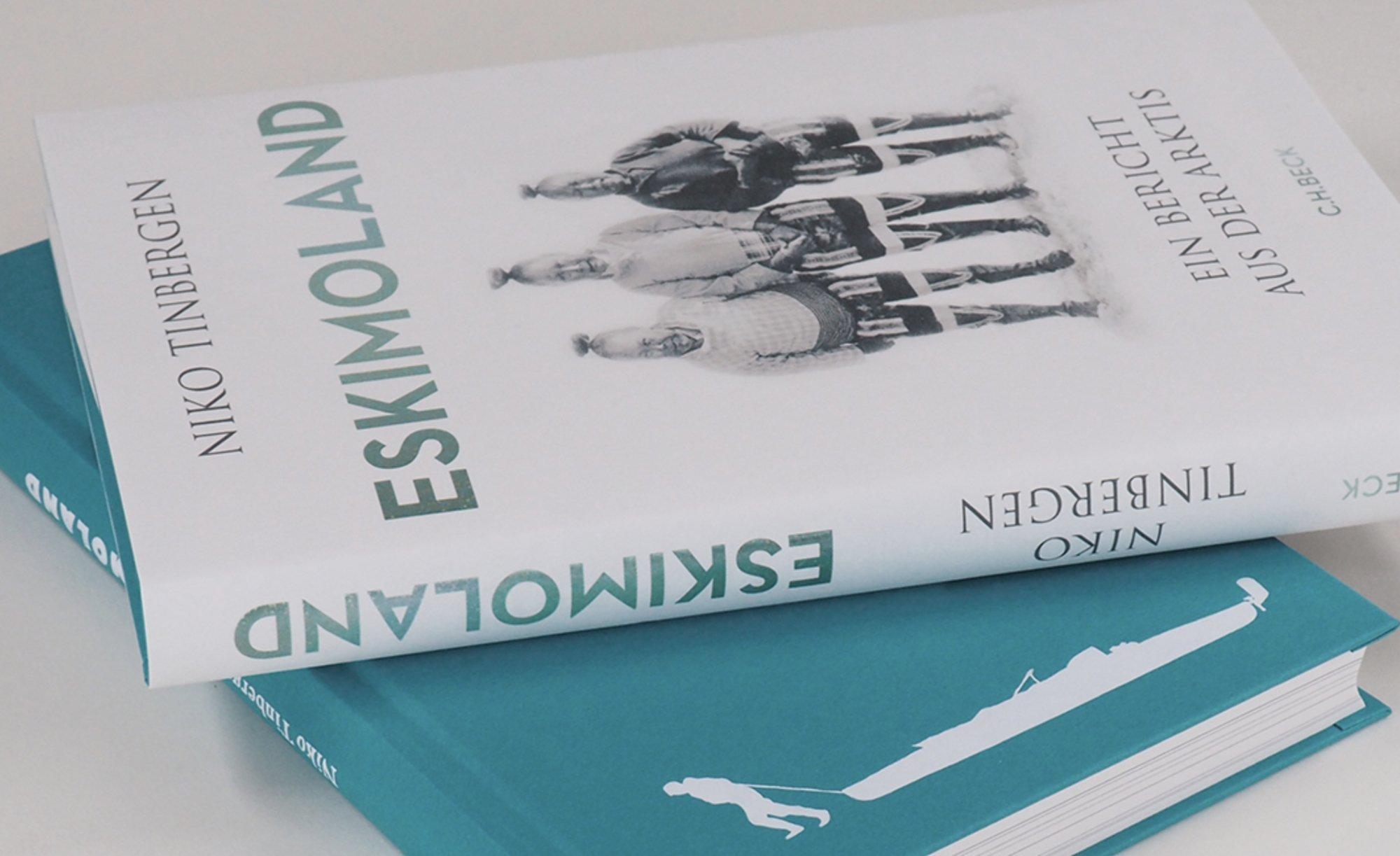 "Buchcover ""Eskimoland"""