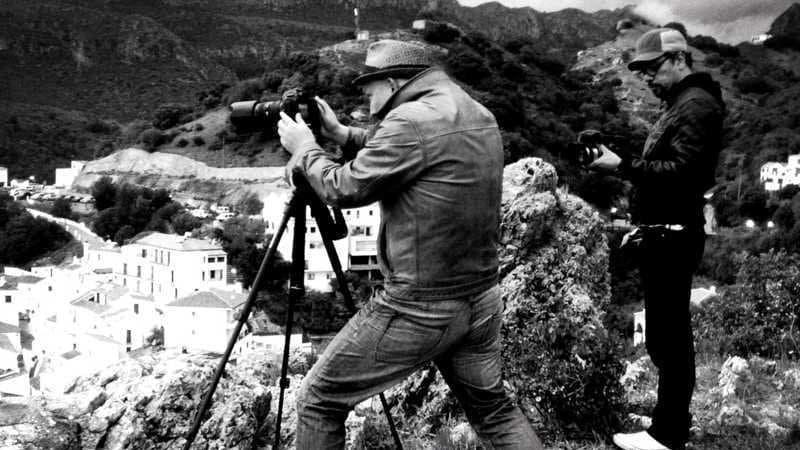 Björn Göttlicher vom Photochimp Club beim Fotografieren