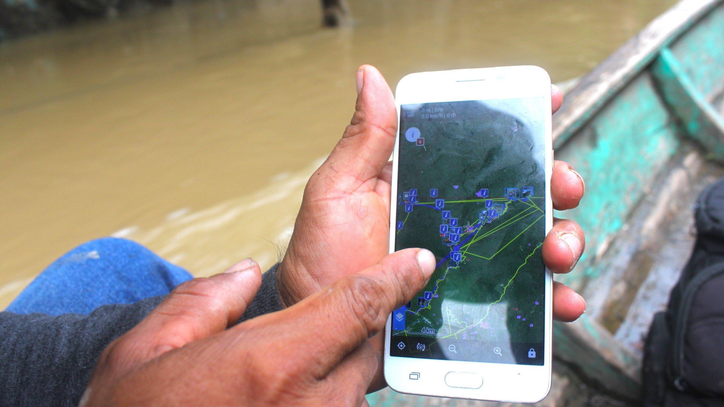 Mit GPS-Karten den Regenwald schützen