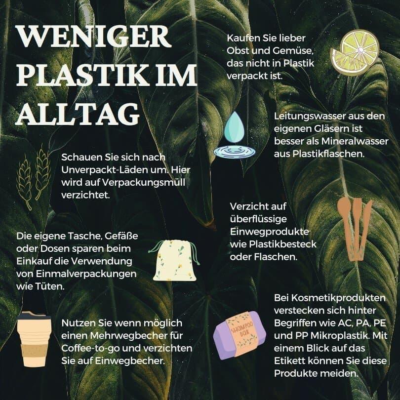 Neben essbaren Verpackungen gibt viele andere Möglichkeiten, der Umwelt etwas Gutes zu tun.