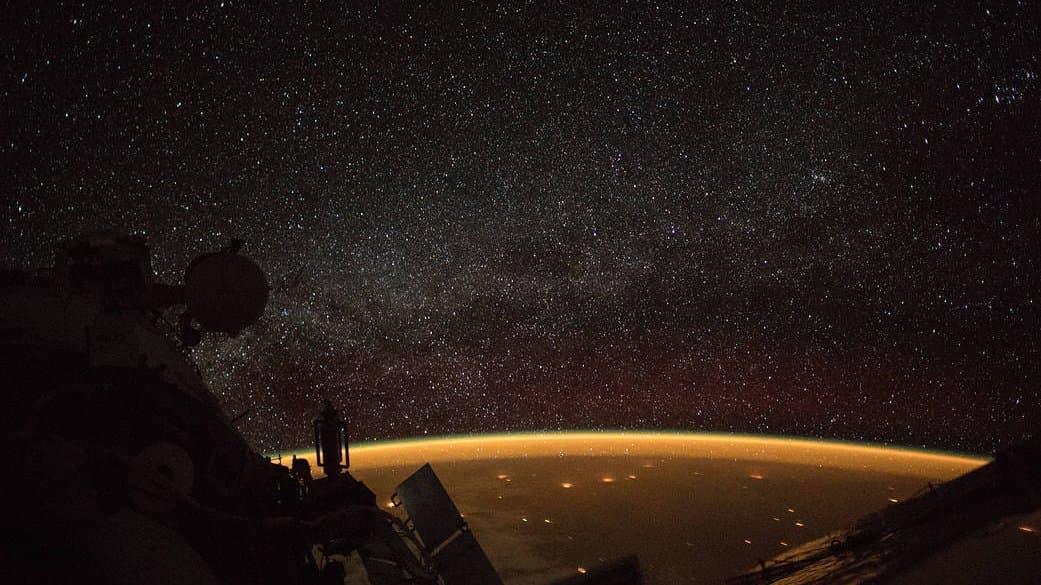 Bild der ISS über Australien.
