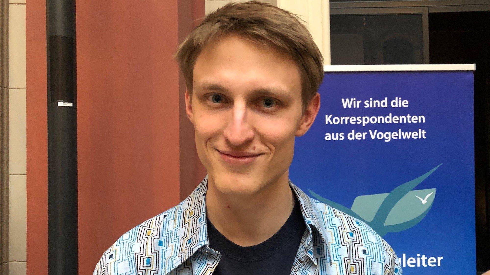 Portrait von Marvin Manzenberger (Naturschutz-Jugendbotschafter)