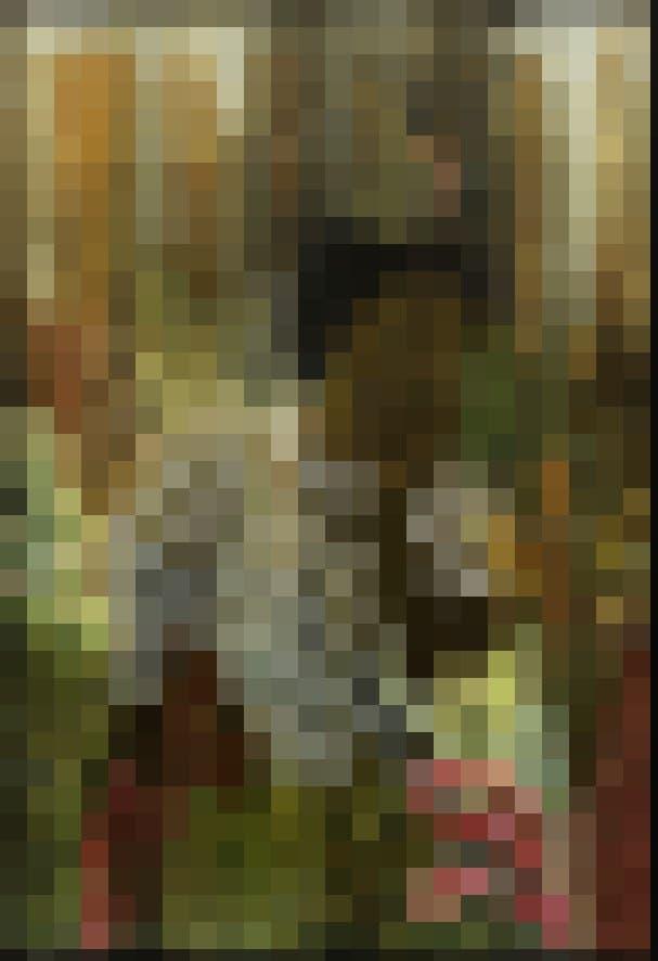 Das Bild von Tuli Mekondjo zeigt eine Frauenfigur