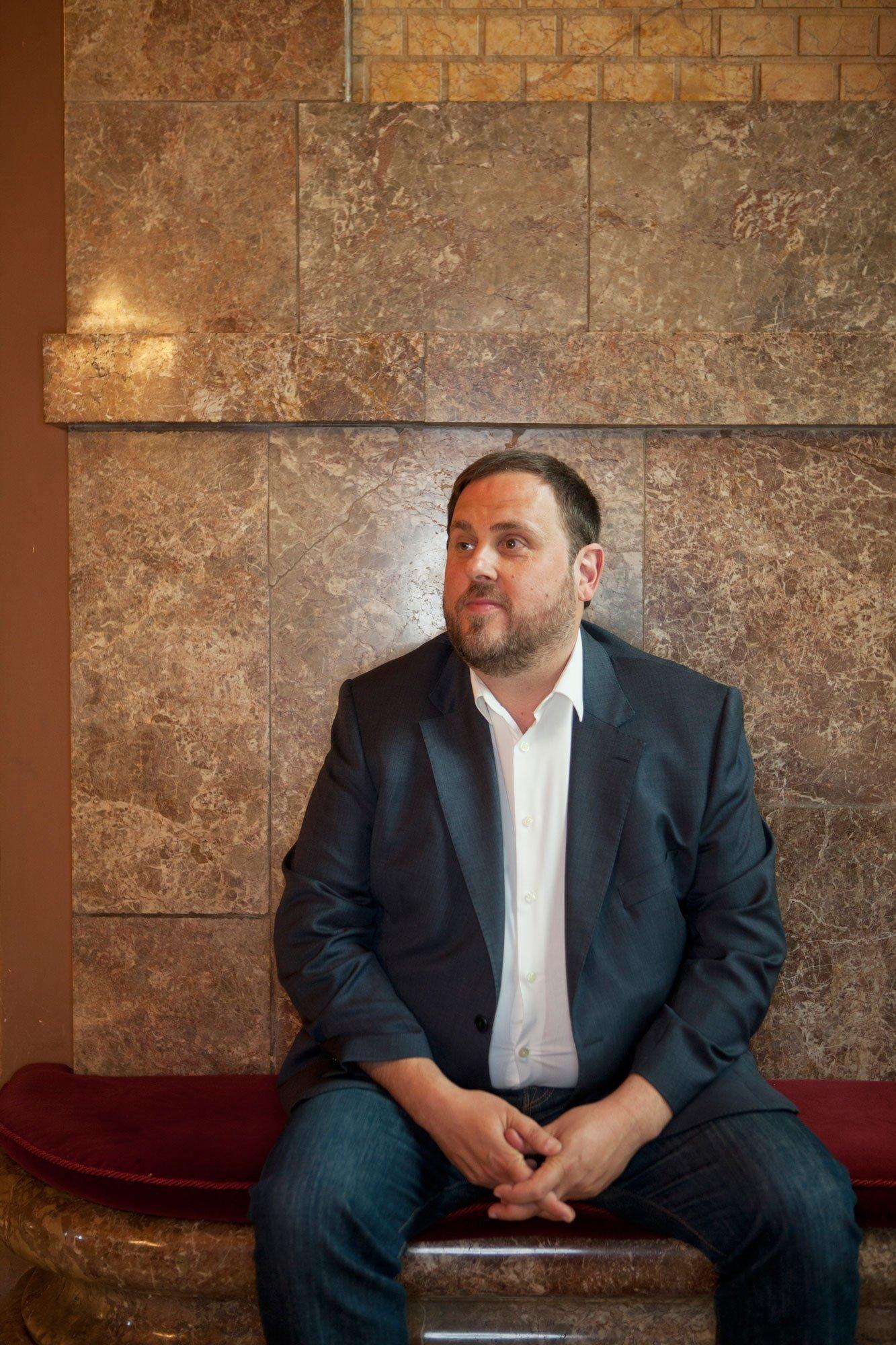 Der katalanische Politiker Orion Junqueras befindet sich seit einem Jahr in Untersuchungshaft. Die Staatsanwaltschaft fordert 25Jahre Haft. Rechtsextreme Nebenkläger fordern sogar 72Jahre.