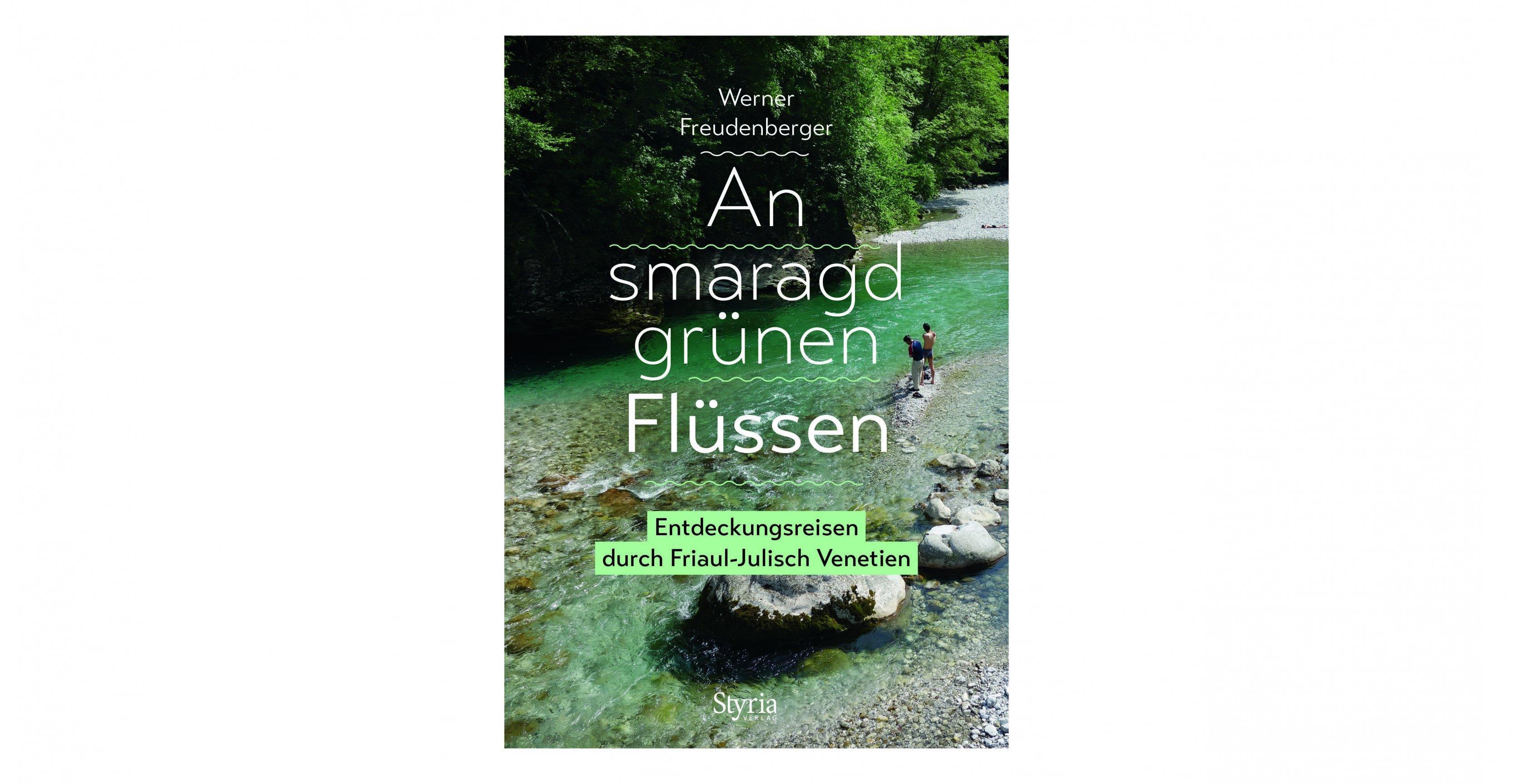 Buchcover eines smaragdgrünen Flusses