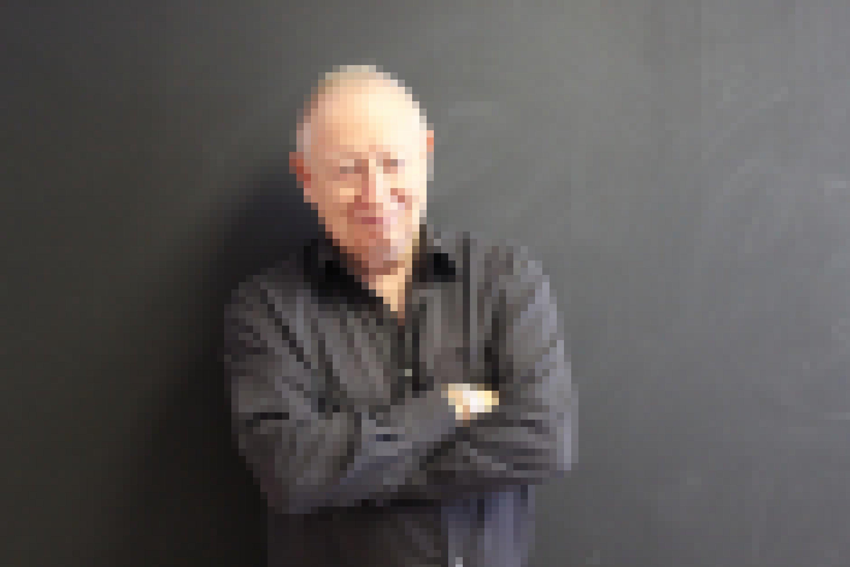 Porträtfoto von David Lewis, Corruption Watch