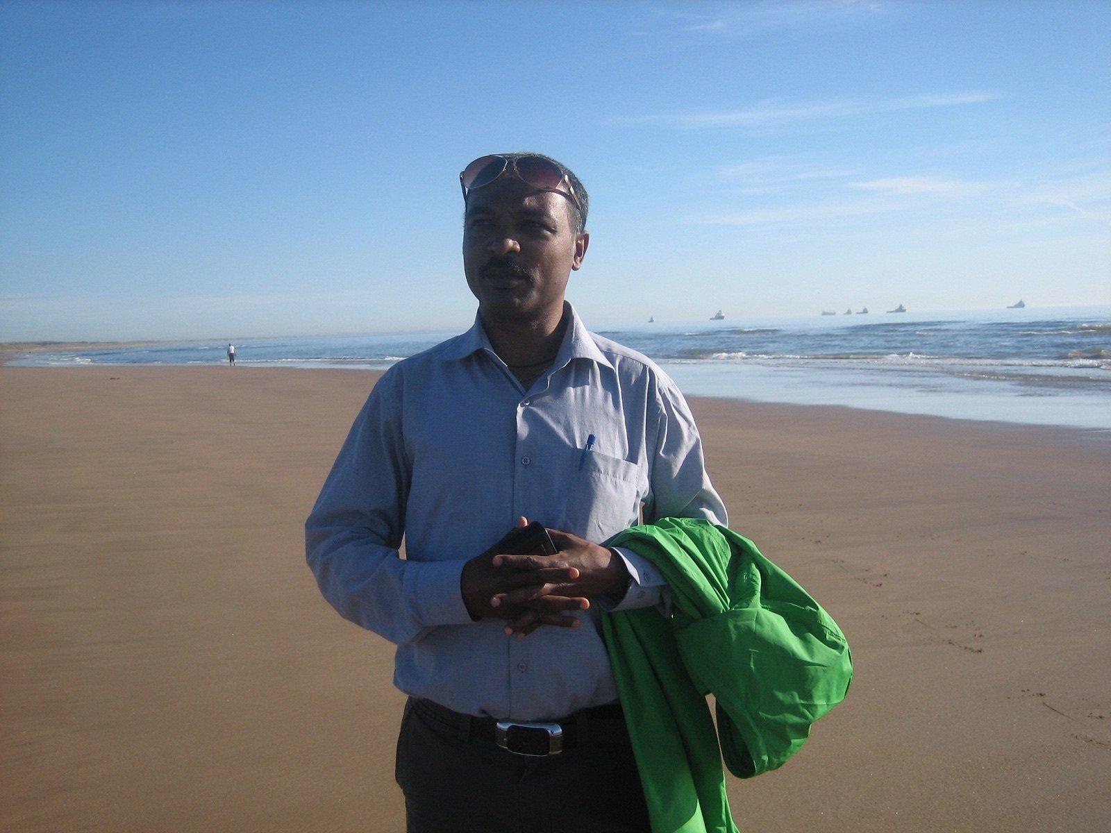 Der Wissenschaftler Solomon Gebreyohannis Gebrehiwot