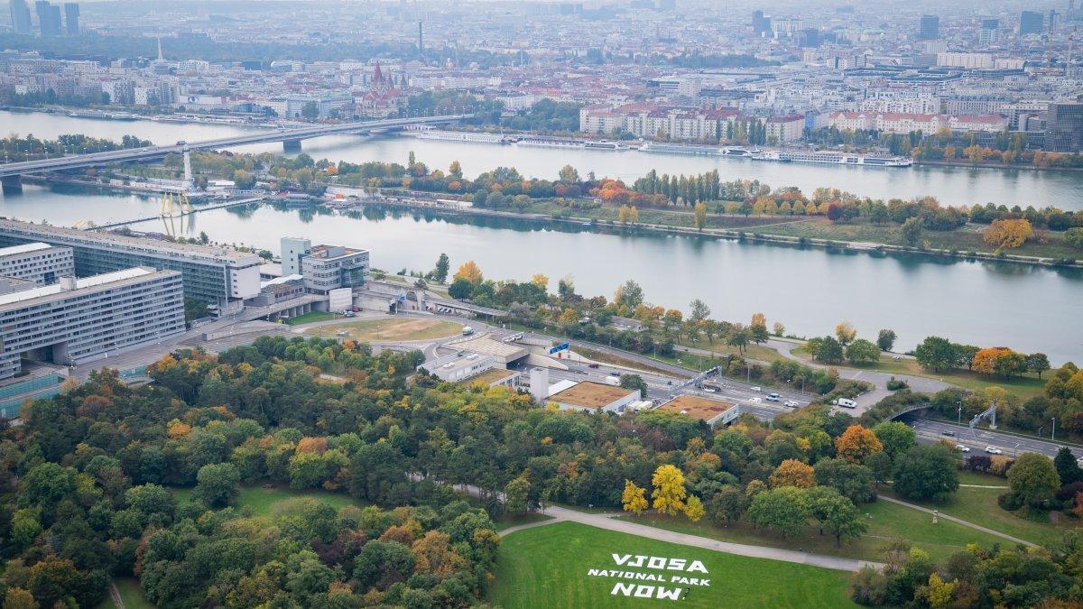 Kampagne für den Schutz der Vjosa in Wien